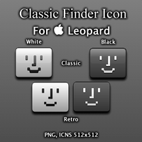 Mac Classic Finder Icon by freakfasmo