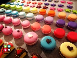Macarons and other yummy things by Selmmma