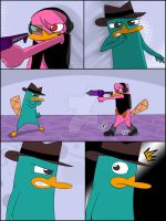 Perry is Busted Page 48 by DokiFanArt