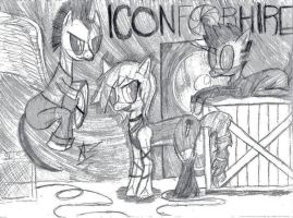 Icon For Hire by ZekroRaptor