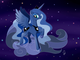 Princess luna by Exceru-Hensggott