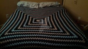 SO's Blanket Complete! by bobcrochets