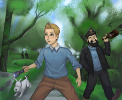 The Adventures of Tintin by solidscorpion69