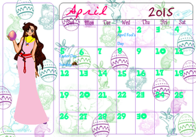 SSMU Calendar Girls - Aiko of Altaria - April 2015 by Angel-of-Love