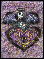 Jack Skellington Tat Colored by Quicksilverfury