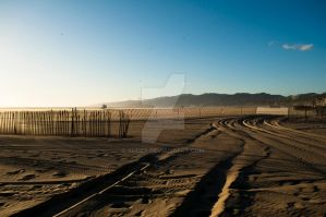 Santa Monica Beach by Xudex