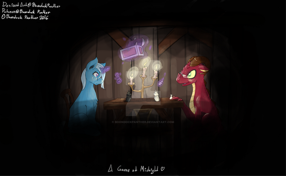 A Game At Midnight - Commission by BoondockPanther