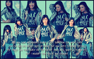 Demi Lovato Wallpaper by BoTToM-oF-tHe-OcEaN