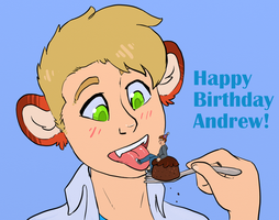 Happy Birthday Andrew! by VoraciousPanda
