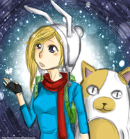 First snow by Hisui-tenshi