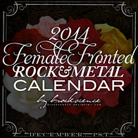 Female Fronted 2014 Calendar II by brockscence