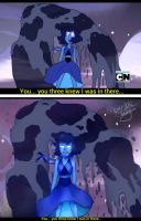 ::SU:: Lapis Lazuli [Screencap Redraw] by bumble-lily