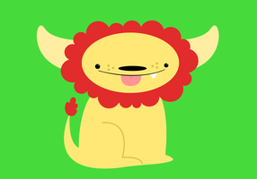 luke the monster lion.... by armadilloboy