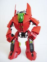 WIP Red Mecha v 1.3 by QuQuS