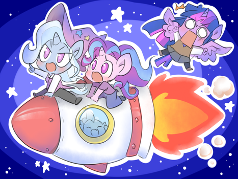 We're Going On A Trip by thegreatrouge