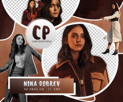 Png Pack 474 // Nina Dobrev by confidentpngs
