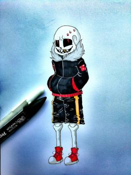Underfell Sans by TheSewingLady