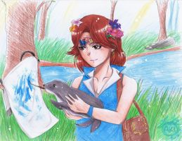 [C] Princess and The Seal by TheAwesomeAki-kun