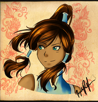 Korra by popyfriend