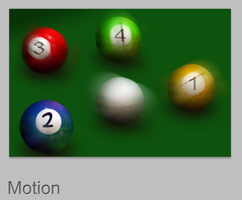 Billiard Balls in Motion by AbhishekGhosh