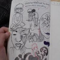 Sketchbook Page by definitelynotwinter