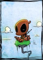 DeadPool Comission #1 by JordiHP