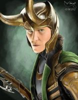 loki the god of mischief by BridgeToNeverland