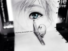 3D Drawing - An Eye by EdyZhng