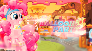 Balloon Party Wallpaper by illumnious
