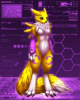 Renamon by CocoFoxStudios