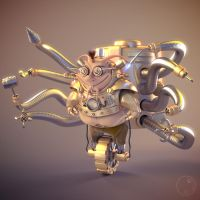 Mecanoid by Guile93