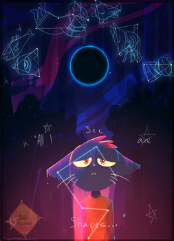 [NITW/Fanart] Stars and Shapes by Dragoncat12009