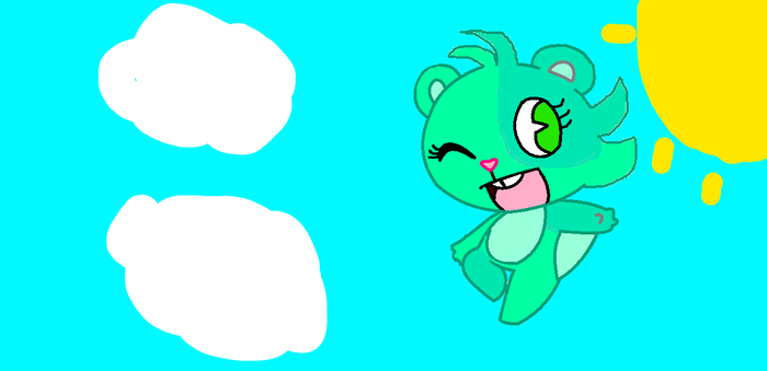 minty the fly squirel by djirontail