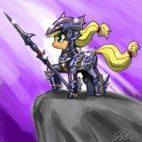 Apple Jack The Dragoon by johnjoseco