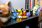 Eeveelutions - COMPLETE by Neoncito