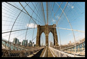 Brooklyn Bridge by Dem-M