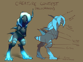 Creature Contest Entry by jaclynonacloud