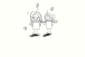 Me and my sissie ^_^ by JunkoAn