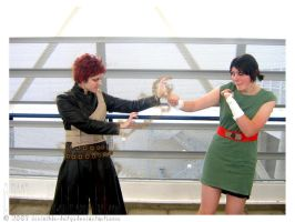 ::JapEx - Gaara vs Lee:: by invisible-deity