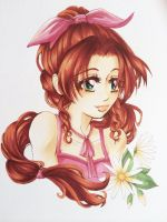 Aerith from FINAL FANTASY 7 by CoffeeCat-J