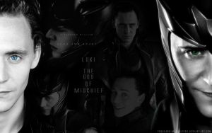 Loki Wallpaper by Mononoke-Kitsune