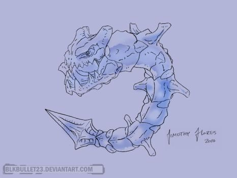 Steelix by BlkBullet23