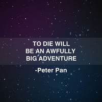 Peter Pan on Death by JanetAteHer