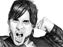 Jared Leto 30 Seconds to Mars by jonsink
