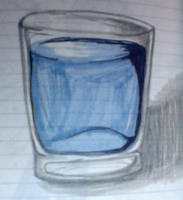 A Glass of Water by janzram