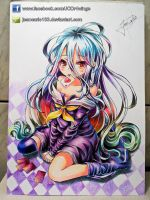 Shiro - No Game No Life by JeanCarlo183