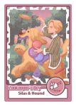 Mew ( band ) Zookeeper's Boy Card - Silas by LordlessTime
