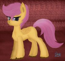 Scootaloo by jazzy-rose-hxc