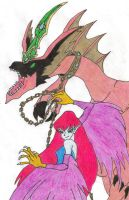 Harpie's Pet dragon by ayame133