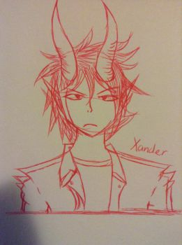 Pen challenge - Xander by InsanityPermitted